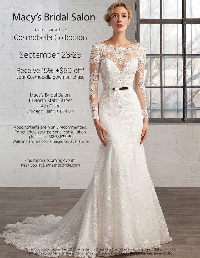 Macys Wedding Gowns | Macys Bridal Chicago On Twitter Gorgeous Cosmobella Bridal Gowns