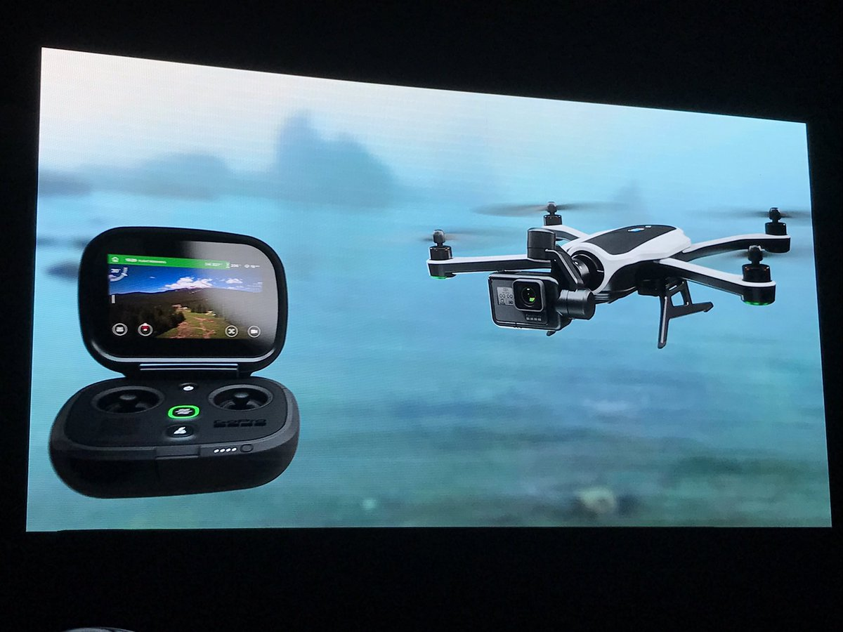 GoPro finally shows off its foldable Karma drone, and it's super sleek