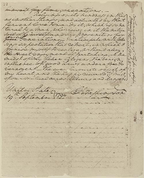 Washington's Farewell Address was printed #onthisday 220 yrs ago. @HamiltonMusical fans will know the last few lines. Declaration Resources image, @declarationres