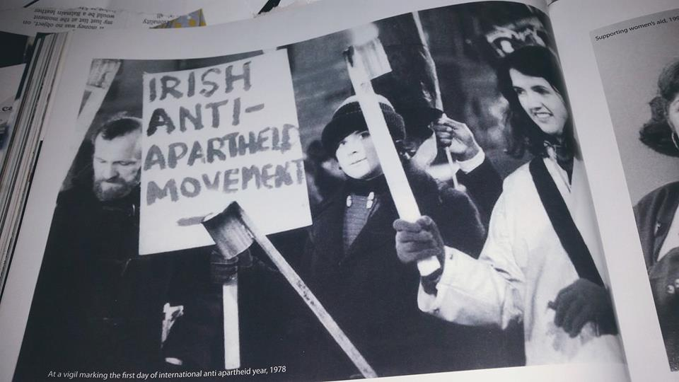 Lucky for her there were no Joans around when Joan was protesting #JobstownNotGuilty https://t.co/gqM4MbObo5