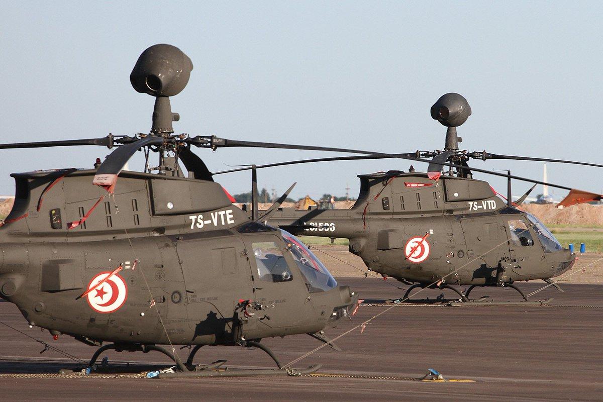 تونس تشتري مروحيات OH-58D Kiowa  الامريكيه الصنع  CsvKm44XgAALsT8