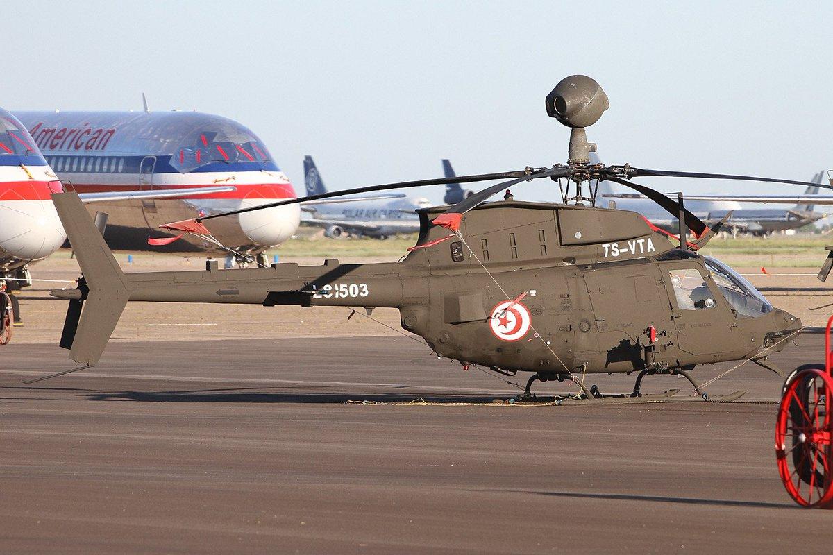 تونس تشتري مروحيات OH-58D Kiowa  الامريكيه الصنع  CsvKoJBWYAAaXdu