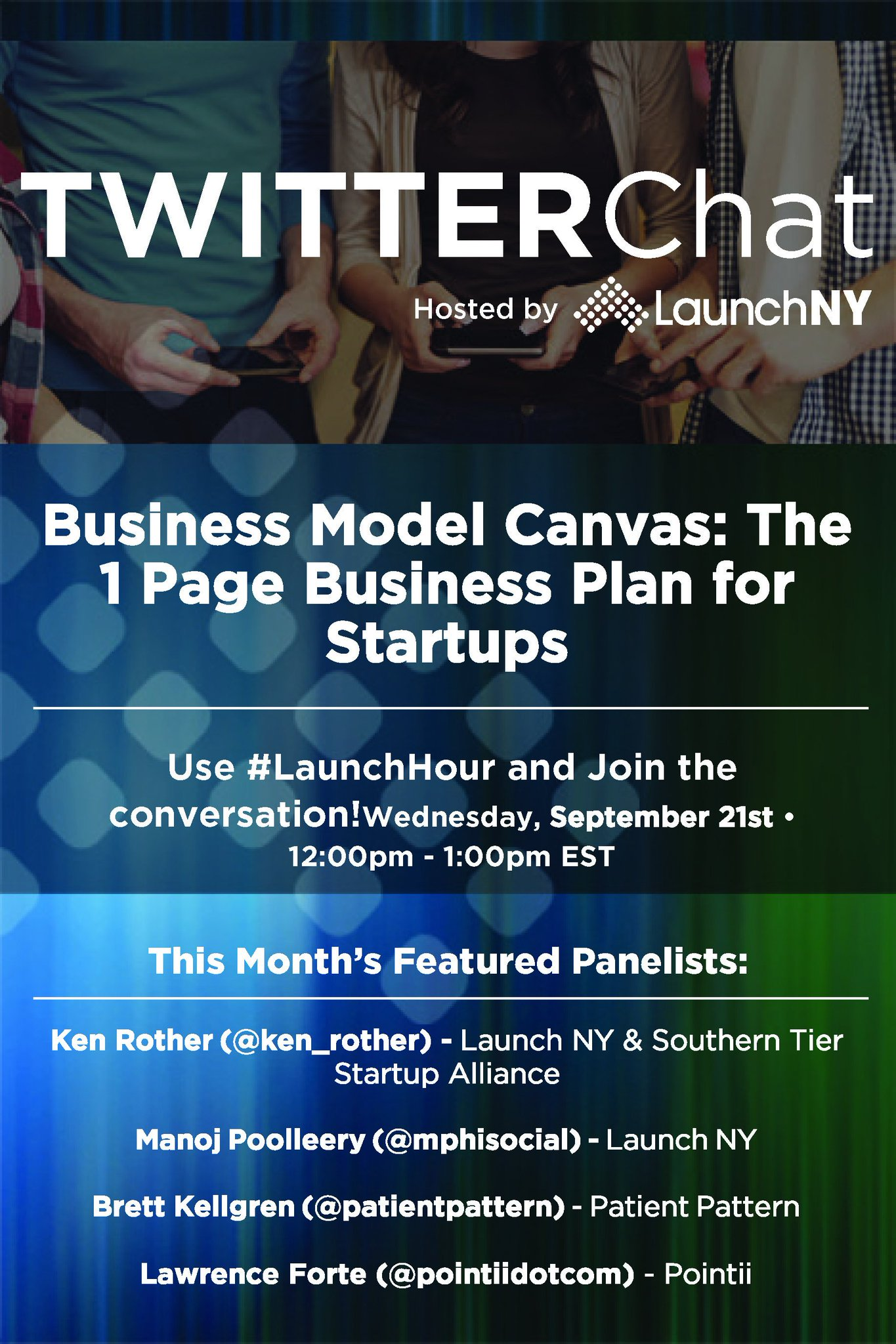 We hope everyone can join us again this month! #LaunchHour https://t.co/iswXvUFs9V
