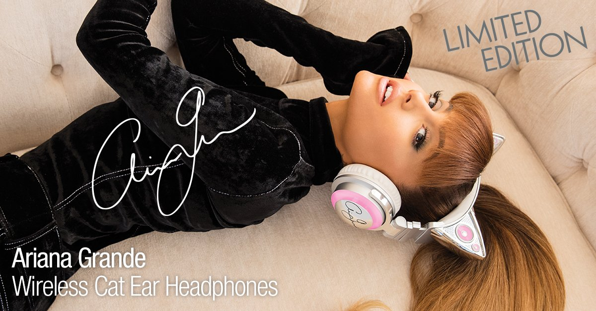 You don't want to miss out on @ArianaGrande's Headphones... PRE-ORDER TODAY... https://t.co/LRRs2GXwQ6 https://t.co/xSzXl2WFLp