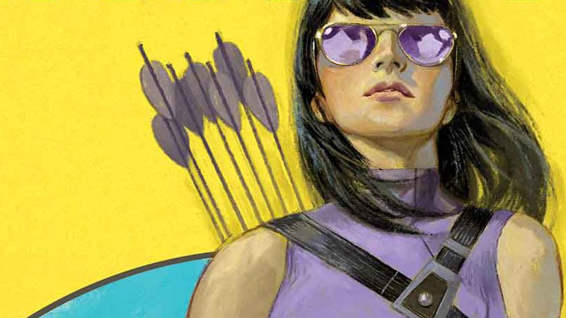 Kate Bishop takes the lead in her first solo Hawkeye comic series https://t.co/ccdsf4A5FM https://t.co/CVGFDqV7uD