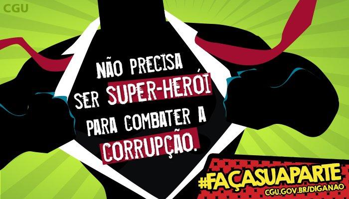 Resultado de imagem para super heroi contra a corrupçao