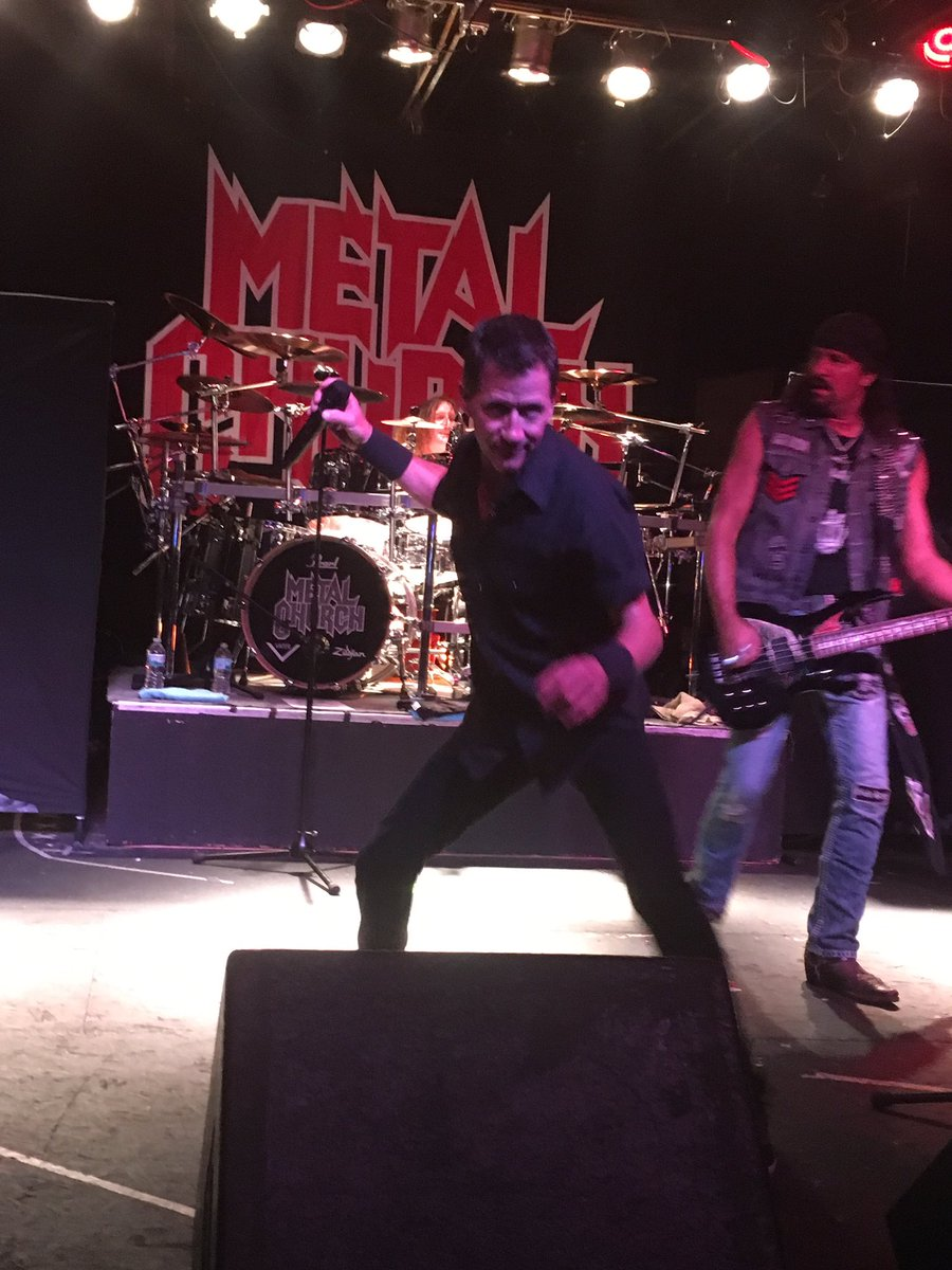Here's a fun pic I took of Mike & Steve of @metalchurchis1 from @Oddbodys in Dayton Ohio this past Friday night