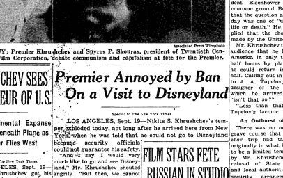 Image result for disneyland 1959 nikita images