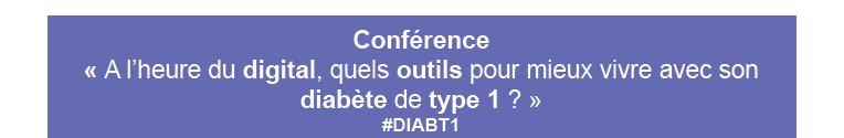 Thumbnail for A l'heure du digital, quels outils pour mieux vivre avec son diabète de type 1 ? #DIABT1