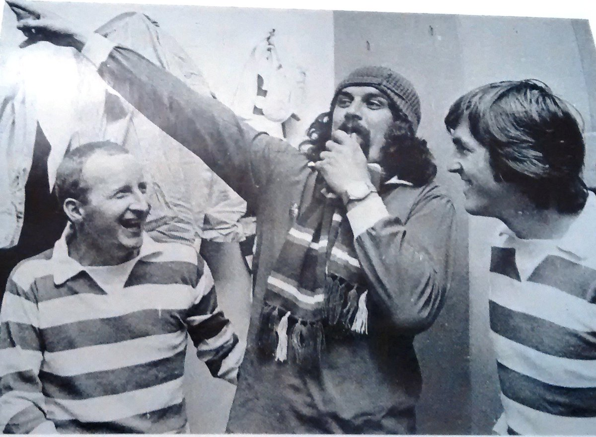 """Kenny of the Celtic on Twitter """"Billy Connolly larks about with"""