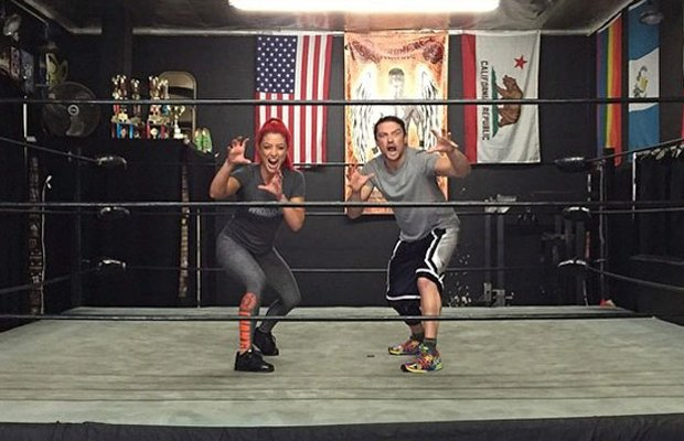 Thank You, Eva Marie, for teaching The Brian Kendrick everything he knows. #Cruiserweights #RAW https://t.co/v9u2DS2NJ0