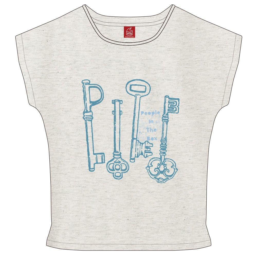 【People In The Box・New Goods】 ※👕 Tシャツ(4つの鍵・ドルマン) 新色のオートミールをこの秋に。