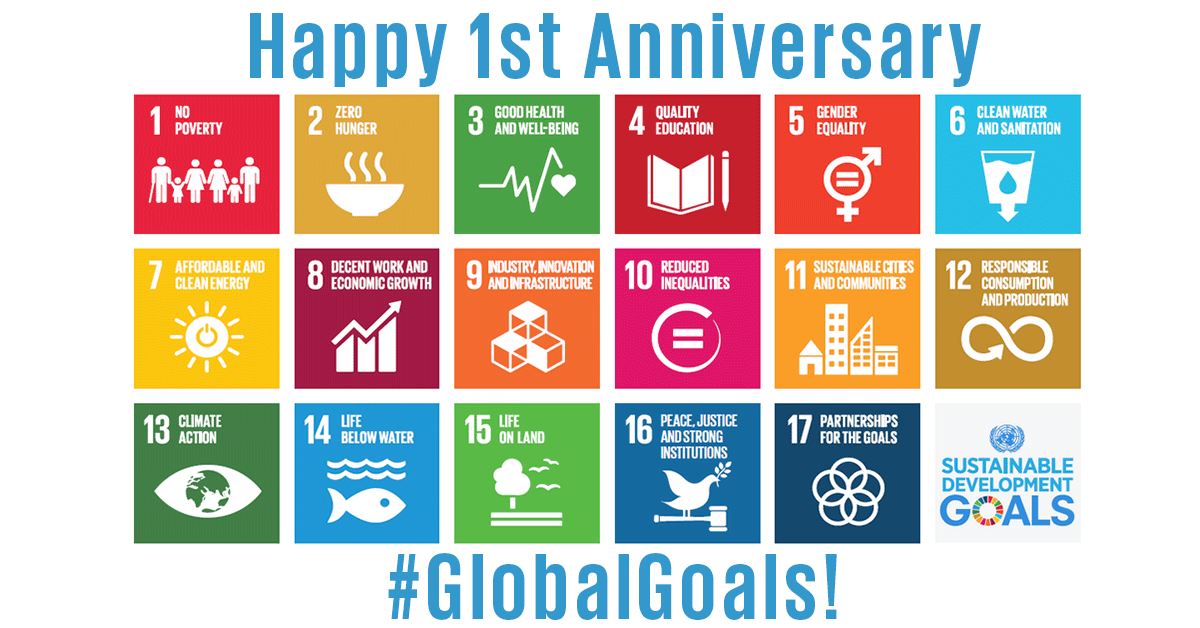The #SDGs provide an historic opportunity to unite all global stakeholders to create the world we want. https://t.co/uXUFIR33AV