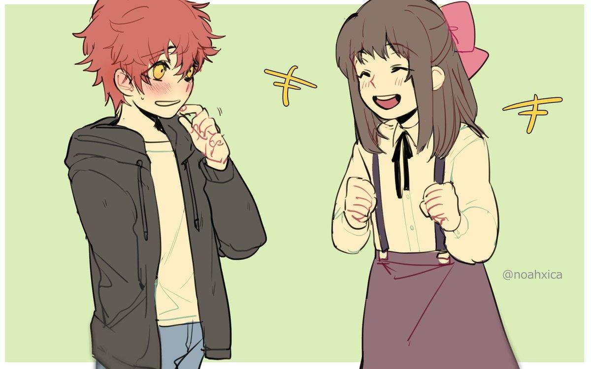 w on twitter imagine cute little shy saeyoung boy meet little cheerful energetic mc
