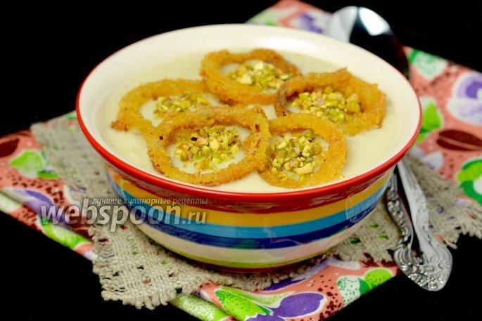 Крем суп из цветной капусты рецепт с фото