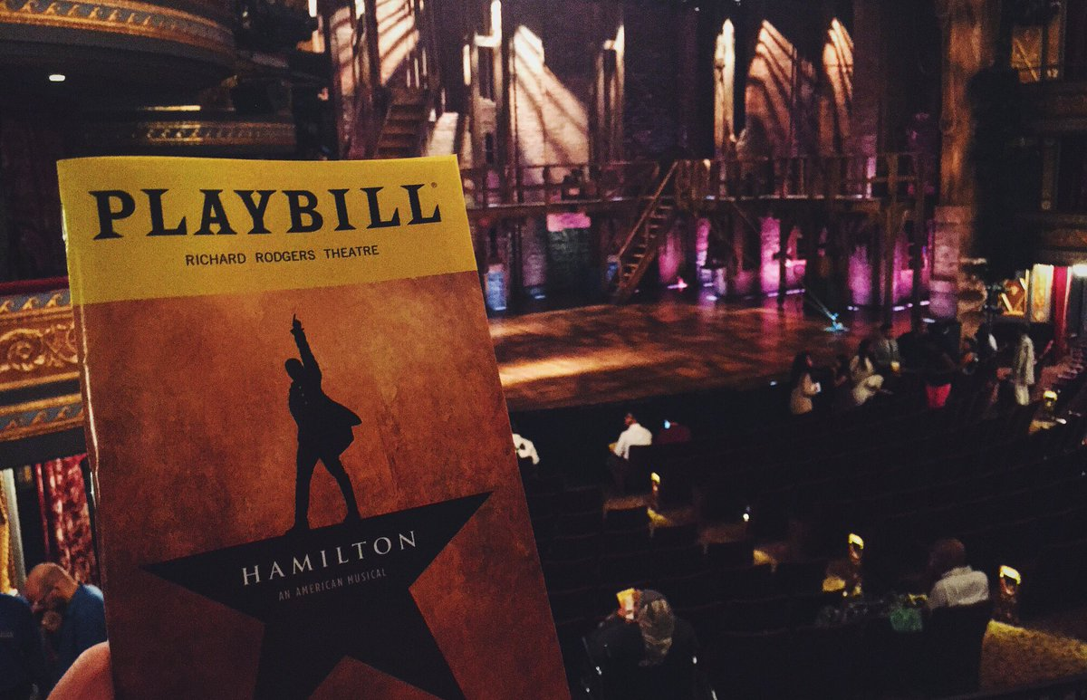 Thanks to @HamiltonMusical for the special show tonight, which raised nearly $4 million for New Yorkers in need! https://t.co/xEMf8xvjaF