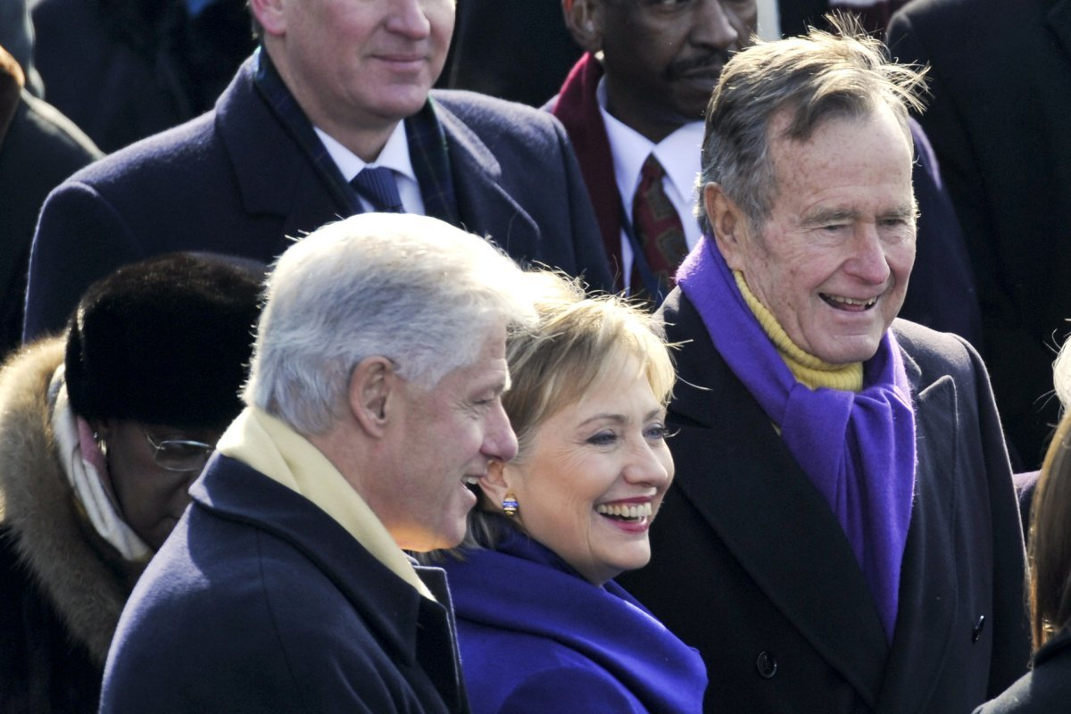 """george h w bush report Associated press houston — a family spokesman says former president george hw bush will remain hospitalized """"to continue regaining strength"""" as he recovers from an infection requiring his hospitalization a day after his wife's funeral bush was admitted april 22 to houston methodist hospital."""