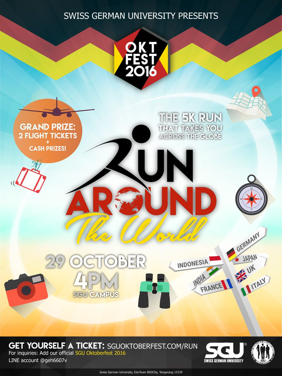 Run Around The World 2016