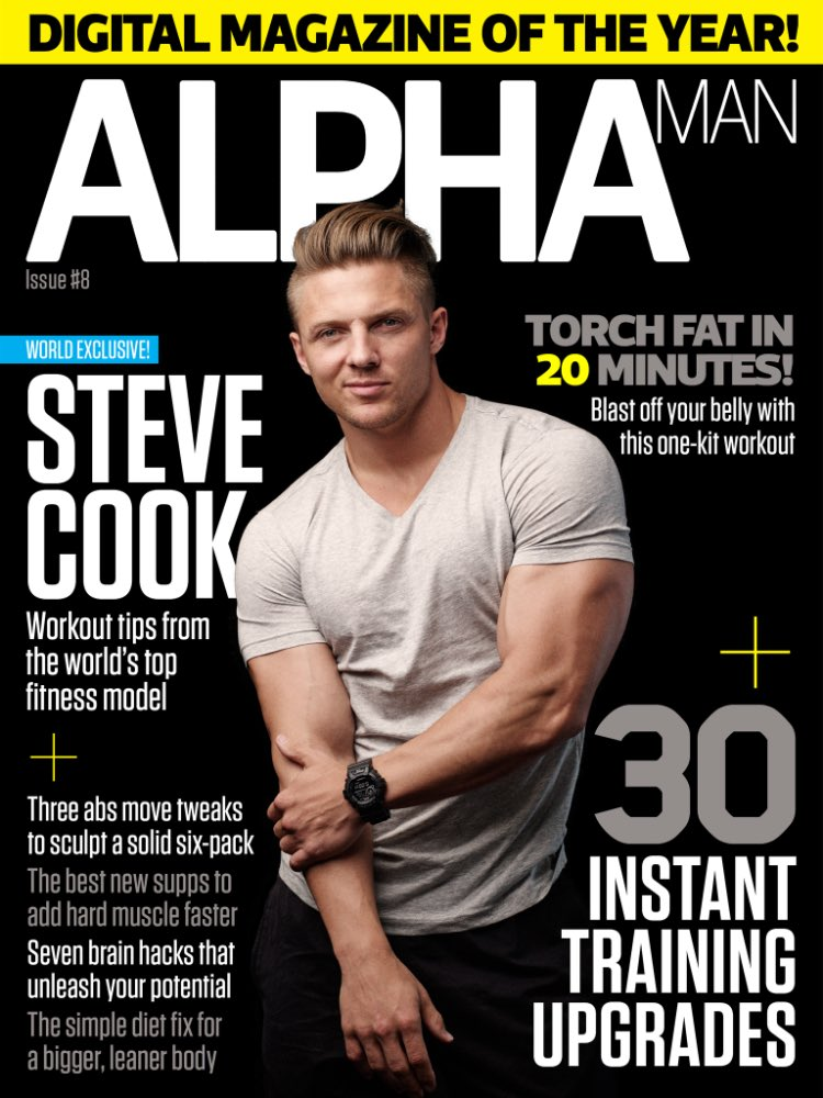 Alpha Man magazine (@AlphaManMagUK)