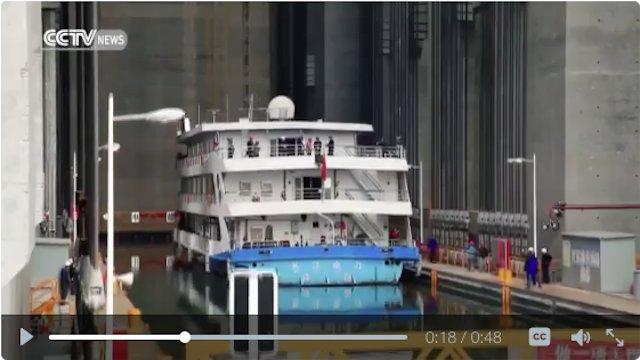 L'ascensore per navi più grande del mondo (VIDEO)
