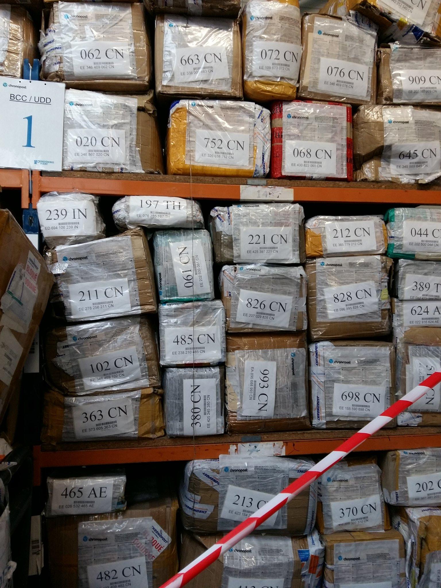 #Douanes Roissy.  Un mois de saisie de colis litigieux. En 1 an 650 tonnes de marchandises détruites. https://t.co/9XgVyDSlnN