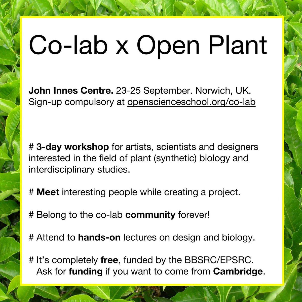 Openplant On Twitter Create Biology Art Design Projects Co