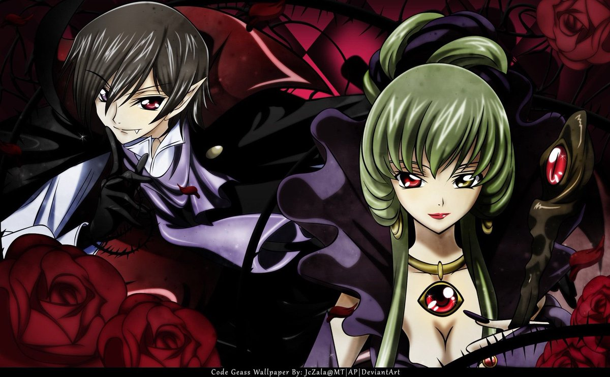 The Anime Lover On Twitter What If Code Geass Was A Vampire