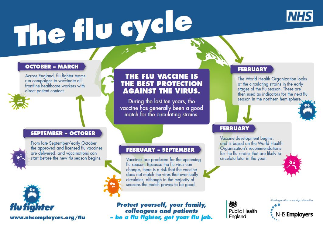 flu vaccines Flu (influenza) every year, millions of people get the flu the good news is that the seasonal flu vaccine can lower the risk of getting the flu by about half.