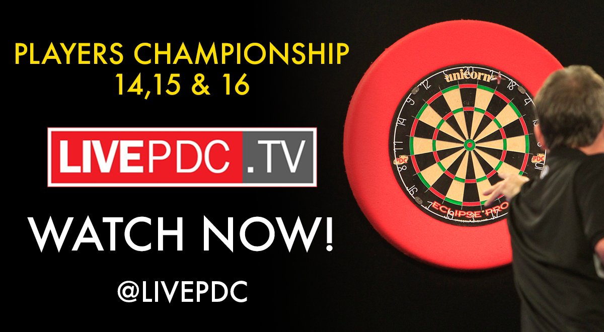 Excited for the first live streams from the Players Championship today. Watch from 12pm! Draw here: pdc.tv/news/article/k…