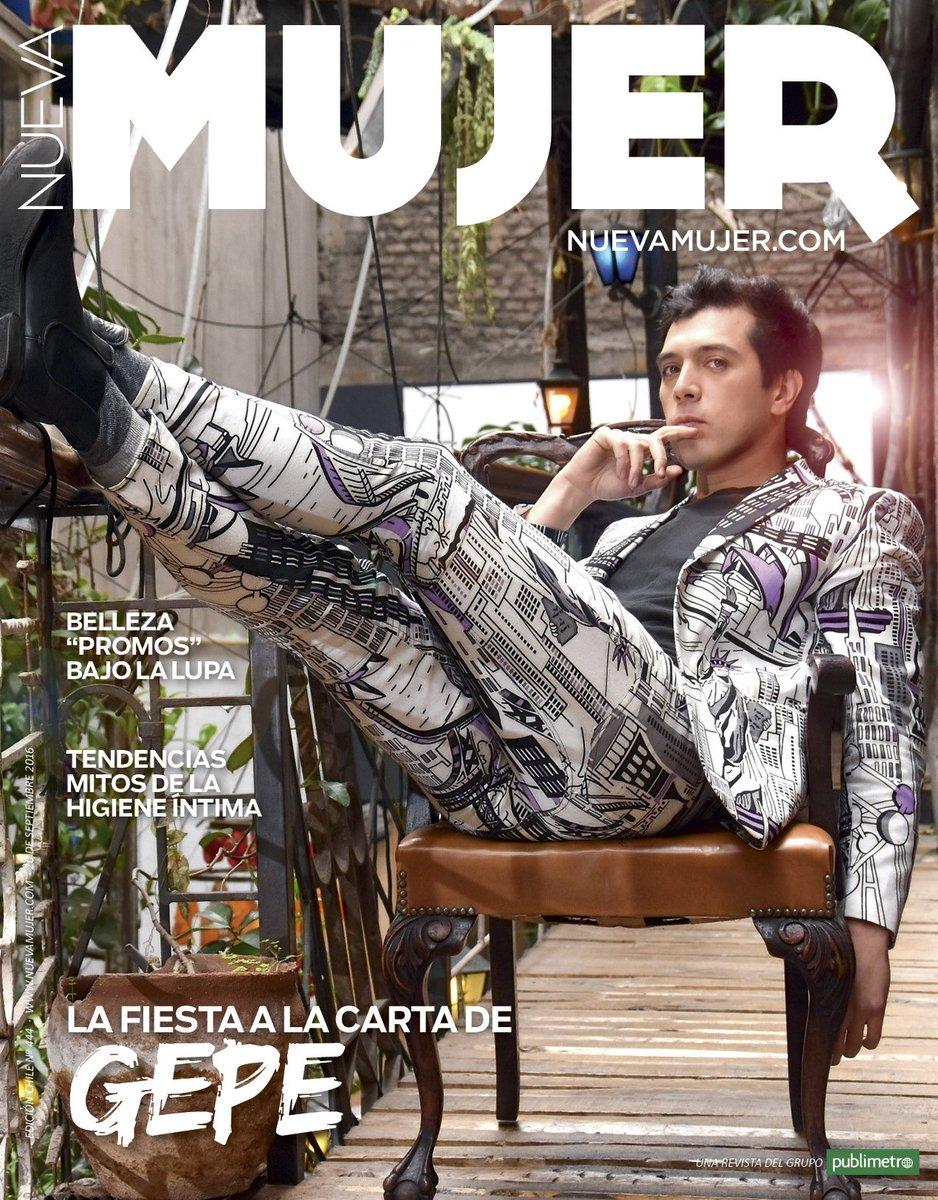 Gepe Gepe Gepe On Twitter Hoy En La Portada De Revista Nueva Mujer