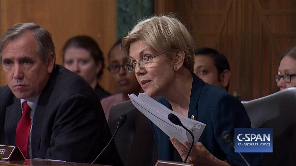 ".@SenWarren #WellsFargo CEO: ""You should resign. You should give back the money that you took..."" https://t.co/aPZViWGJIN"