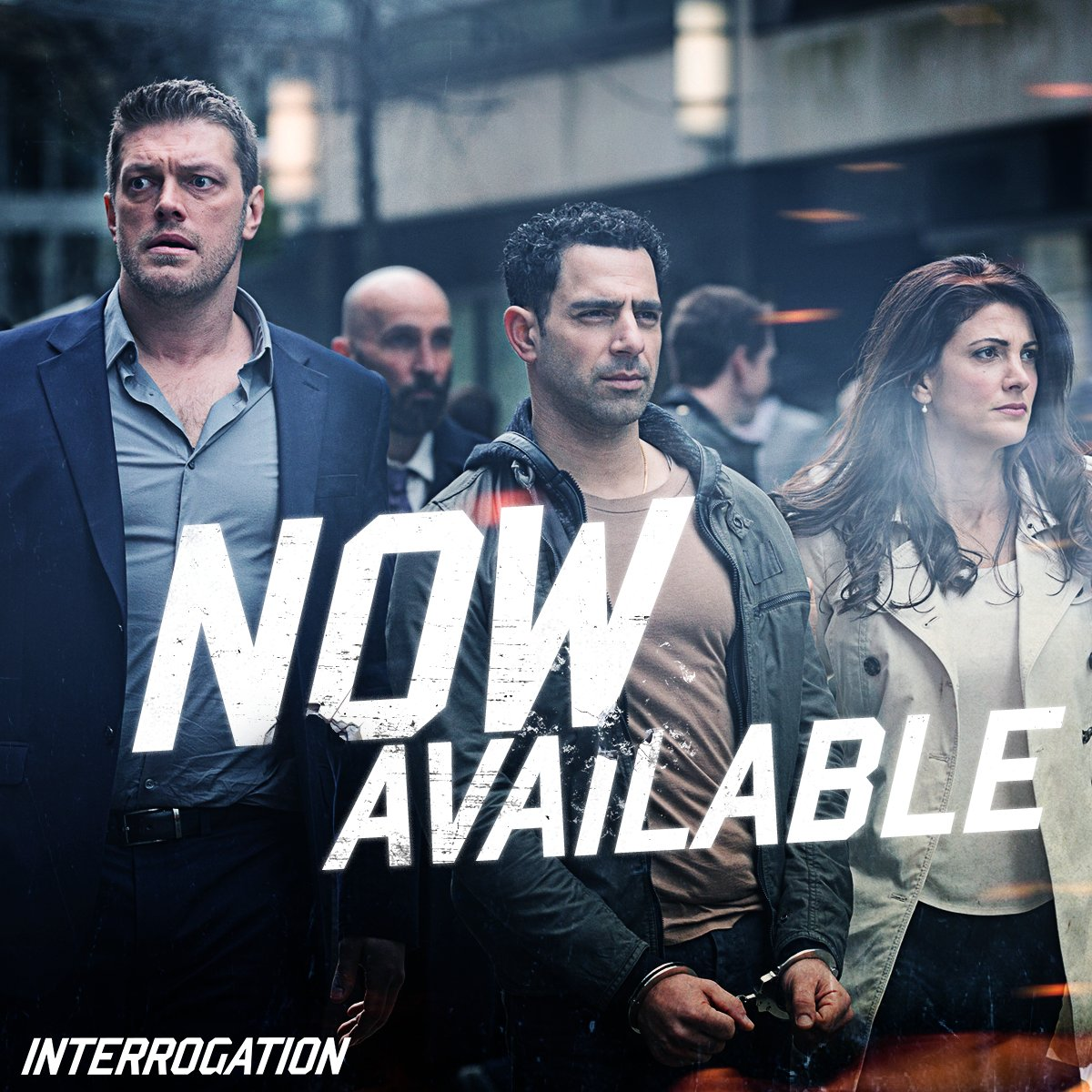 Join the force and get #Interrogation NOW available on DVD & Digital HD. https://t.co/Zy4ZRxZJw6 https://t.co/PowZm23PFX