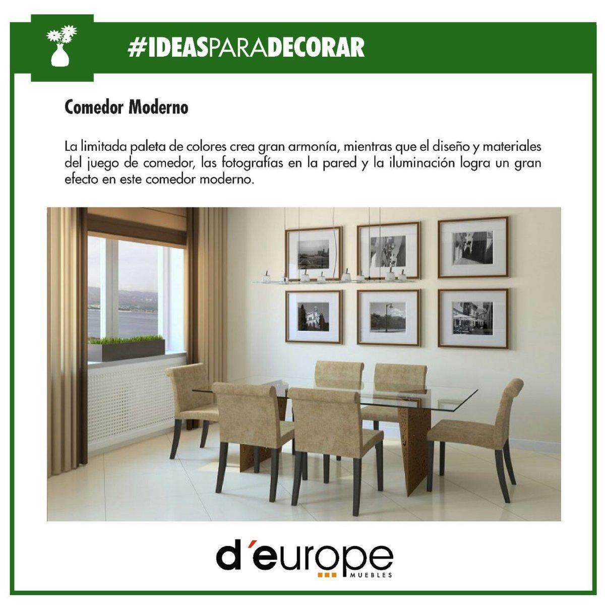 D Europe Muebles On Twitter D Europe Te Da Las Mejores  # Muebles Deurope
