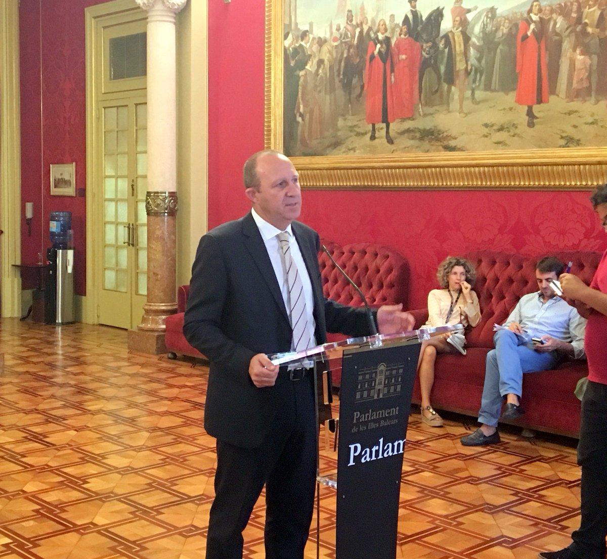 El PSIB asegura que no hay 'ningún indicio' de que en Baleares pase lo mismo que en Castilla-La Mancha