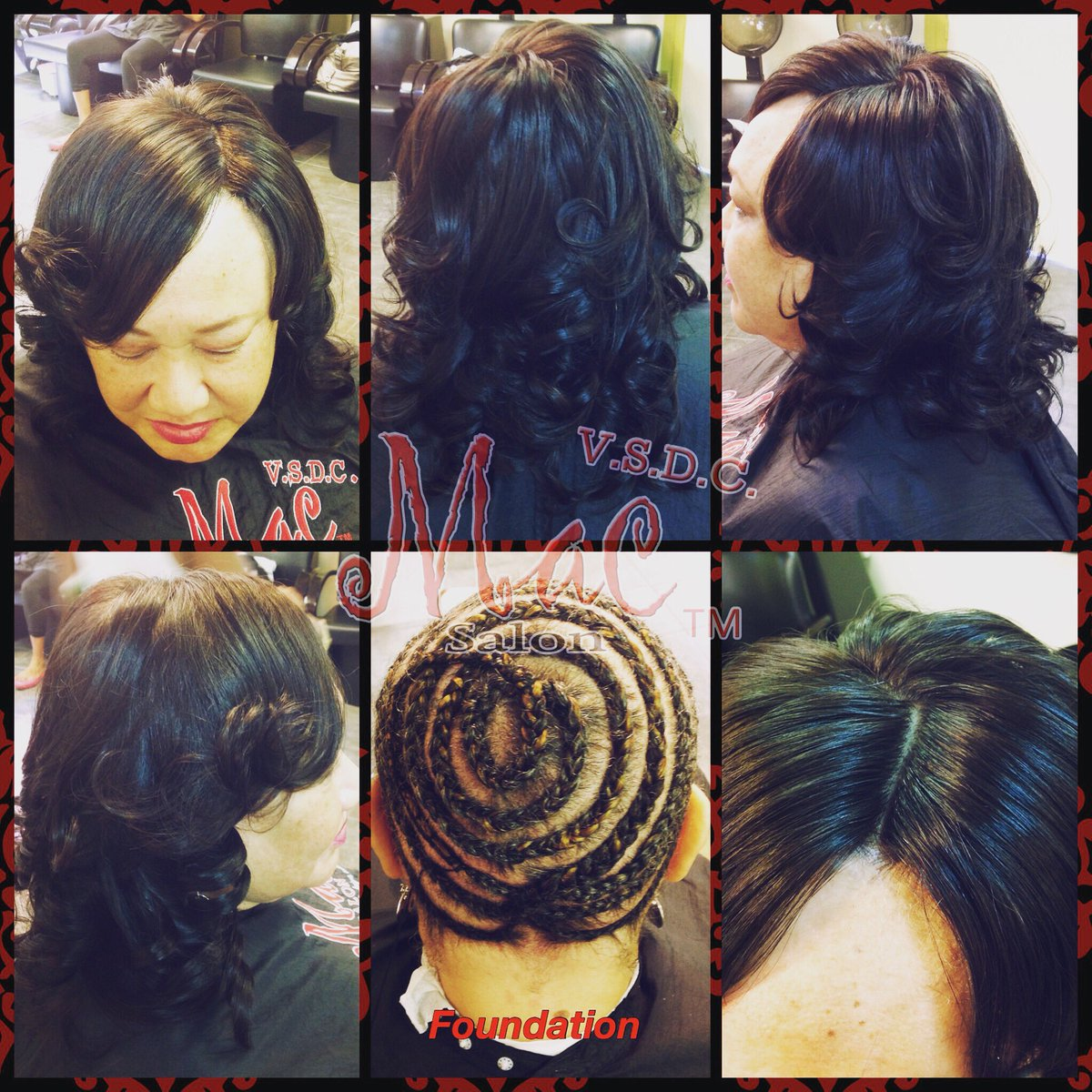 Msc Vsdclon On Twitter Full Sew In Weave With Lace