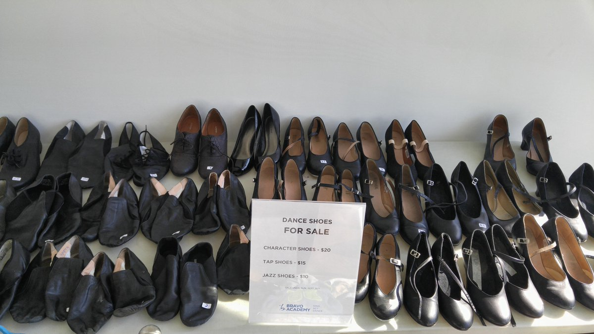 For used tap shoes