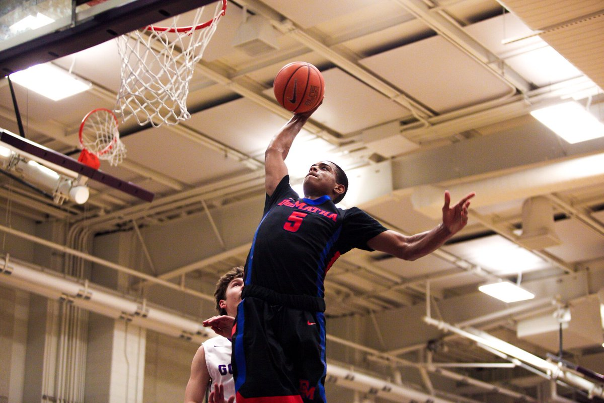 2017 Wing DJ Harvey will announce his college decision on CSN Mid-Atlantic tonight. Details later. #DeMatha https://t.co/yI0E8lkODK