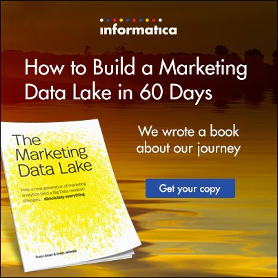 The Marketing Data Lake Book By Franz Aman and Anish Jariwala