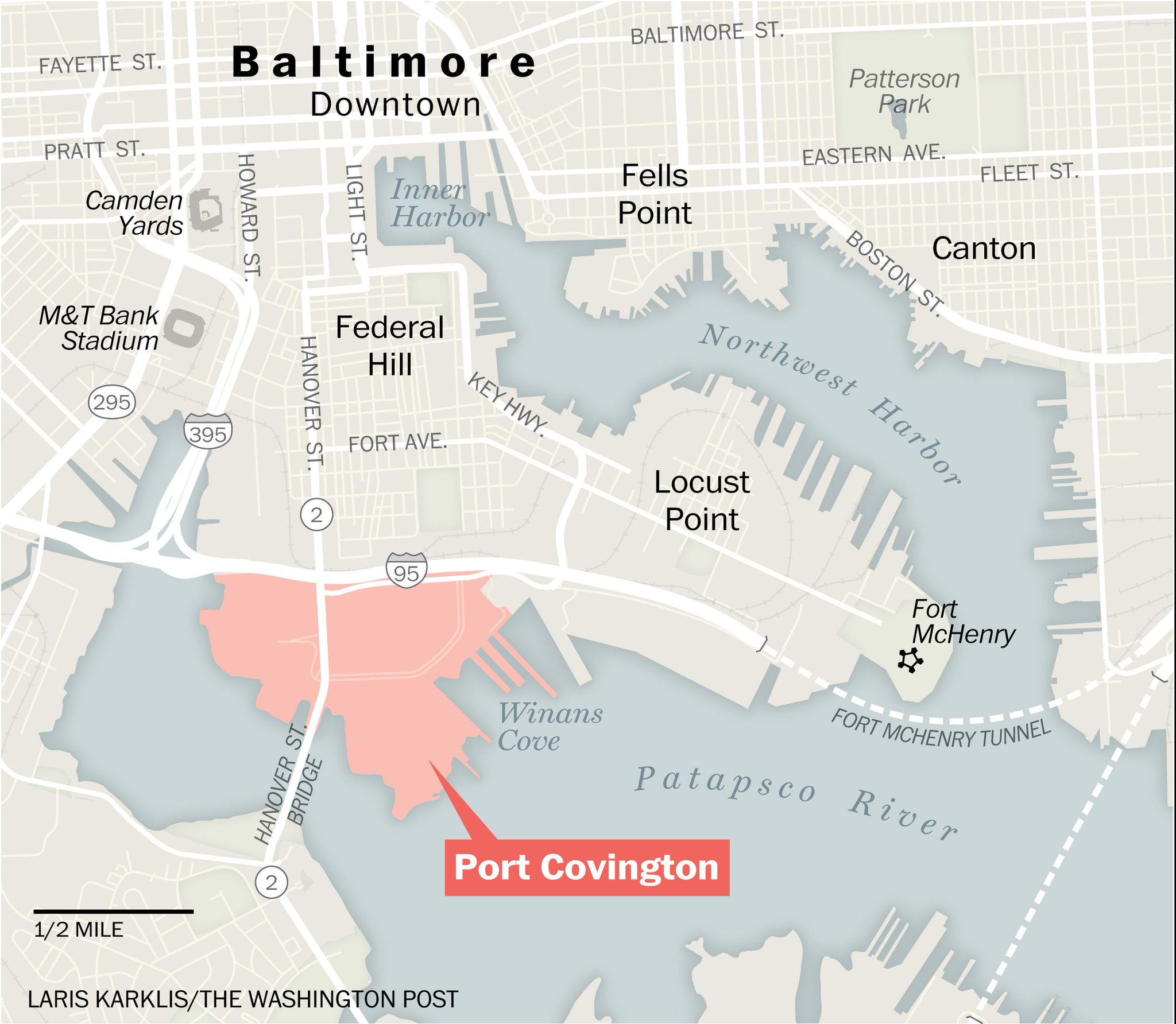 Post Graphics on Twitter Port Covington Map Baltimore approves