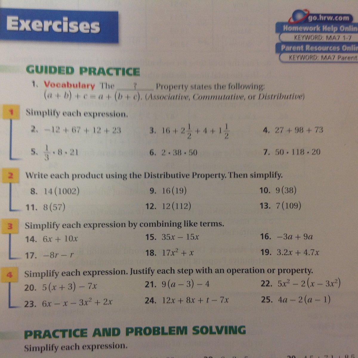 Made by Teachers: Go Hrw Algebra