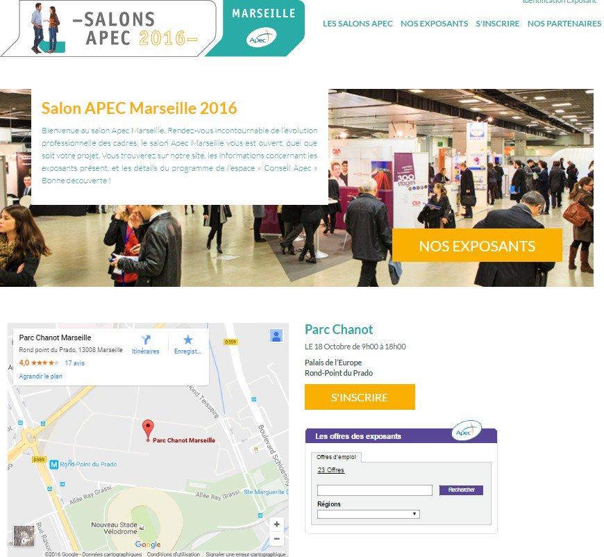 Salonapec info en direct news et actualit en temps for Salon apec