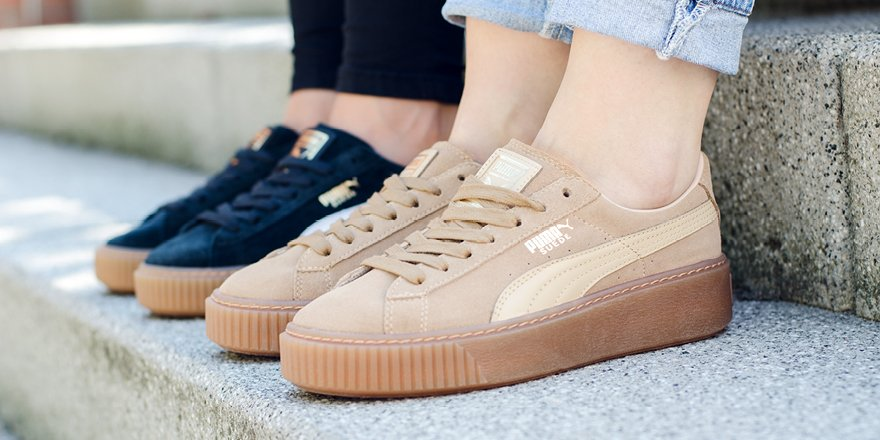 d7c6ab352f2 puma suede platform core - women shoes