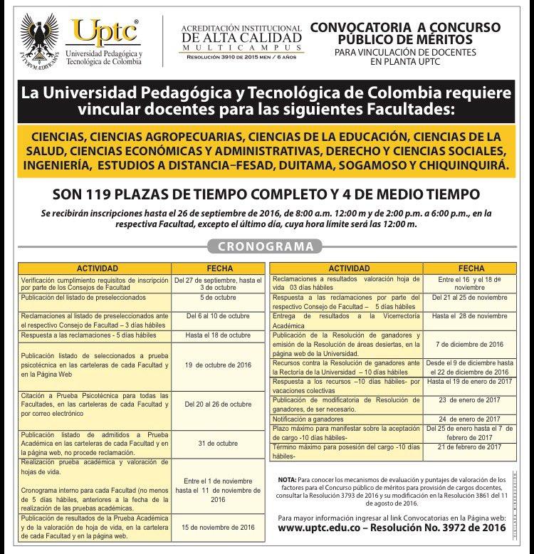 Inscripcion concurso docentes 2016 colombia for Concurso docente 2016 plazas