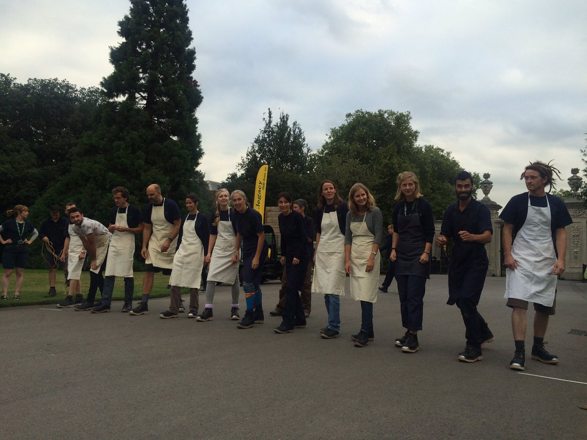 Image result for clog and apron race kew