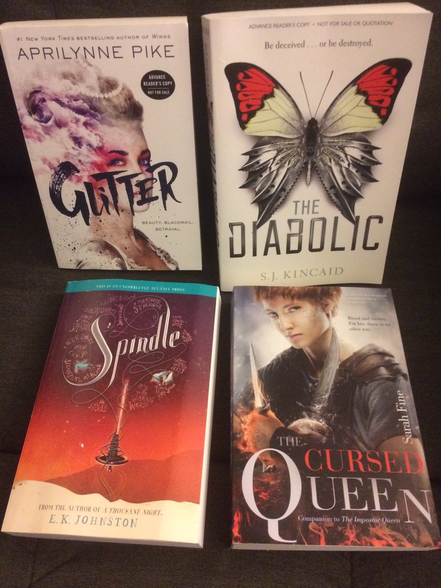 October #giveaway time! Follow & RT (no quoted tweets) to win these 2016/2017 ARC's! US only ends 10/31. https://t.co/lthXSdVyw0