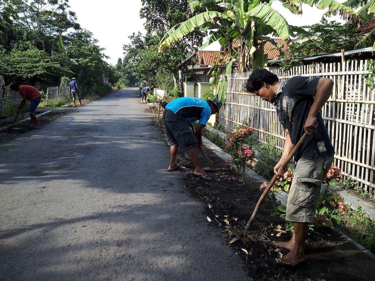 Kecamatan Adipala On Twitter Kegiatan Kerjabakti Persiapan Adat