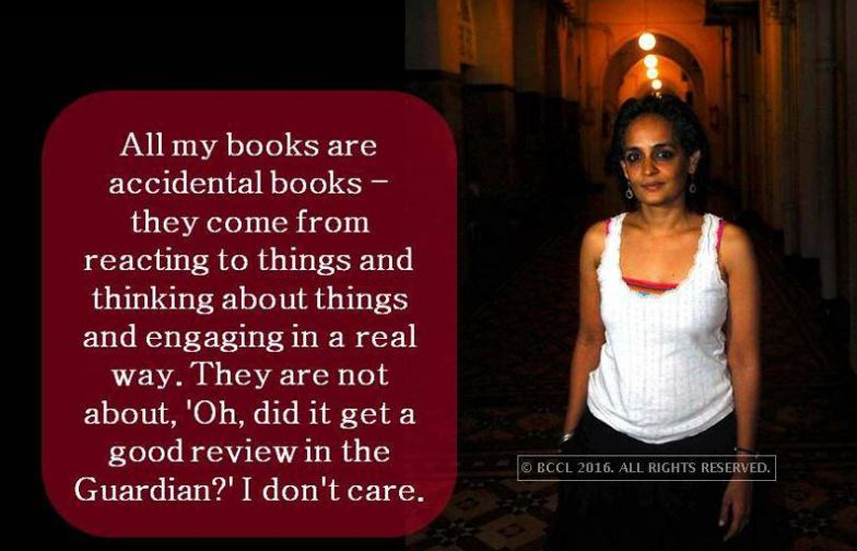 Times Of India On Twitter 6 Quotes By Arundhati Roy That Will