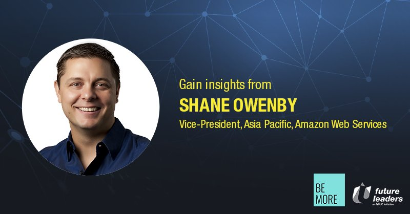 Learn from Shane Owenby, Vice-President, APAC at Amazon Web Services about Amazon created an innovation flywheel: https://t.co/1ZZC5slIq3 https://t.co/dHIQxgpgGe