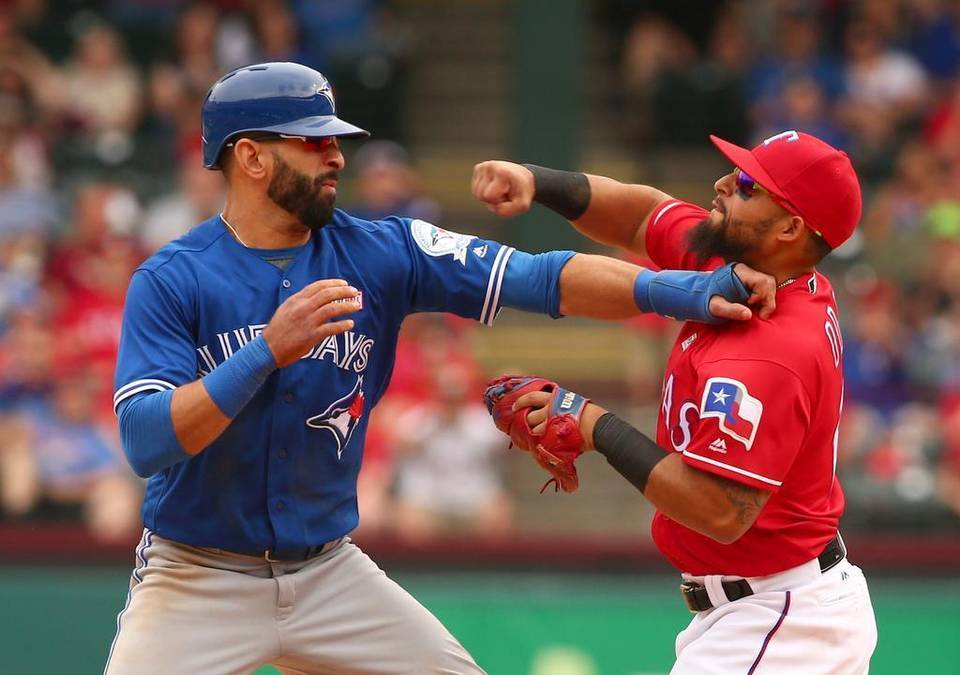 We will get the rematch. #BlueJays vs. #Rangers, 2016 ALDS Credit: @SuperProRico https://t.co/7wRyuemK1j