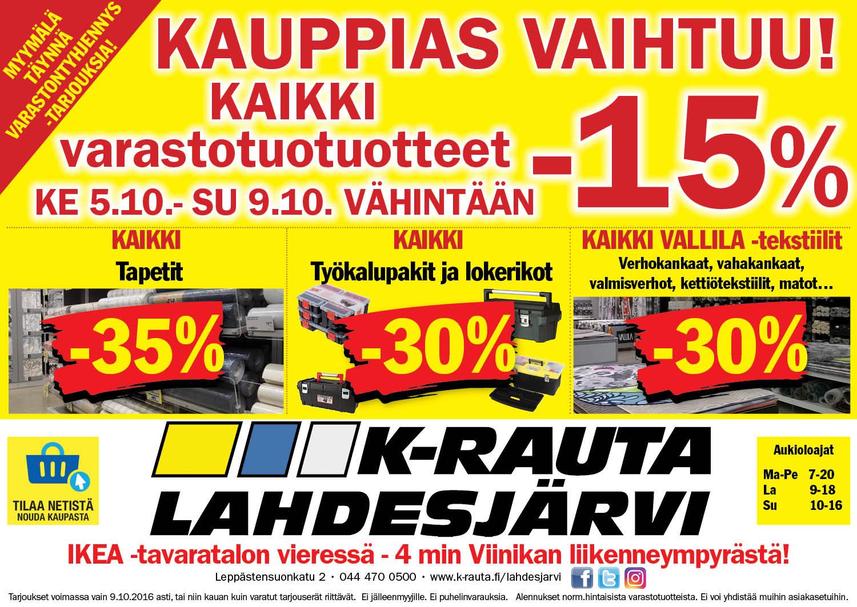 K-Rauta Lahdesjärvi Tampere